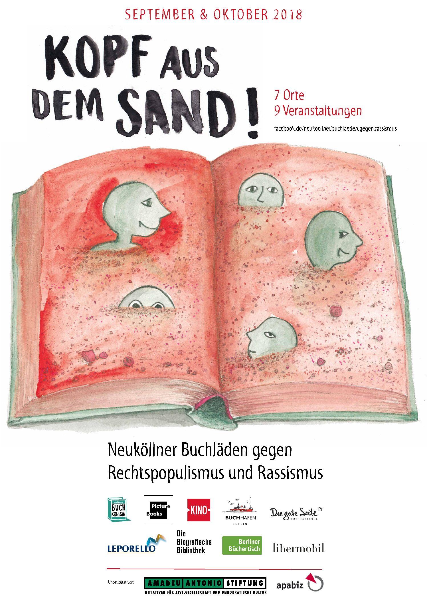 """16.10.2018 Lesung mit Antonia von der Behrens: """"Kein Schlusswort!"""""""